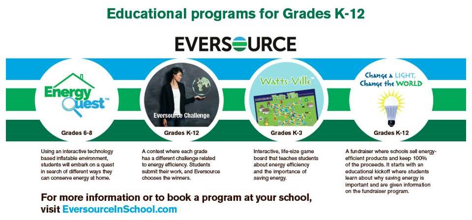 Brief Description of Eversource's Brand New Educational Programs!