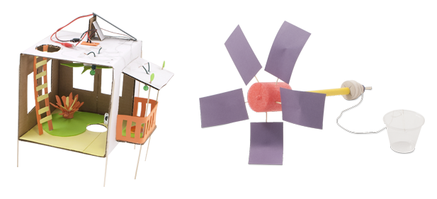 Solar Town and MacGyver Windmill challenge entries