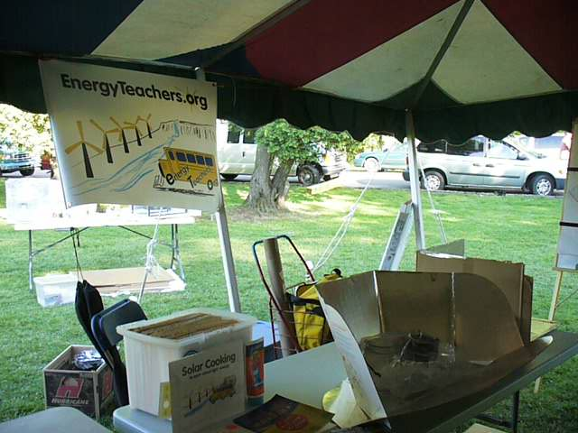 An EnergyTeachers.org exhibit