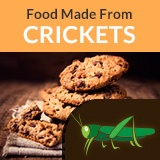 Innovate to Mitigate. Food from crickets is one area to consider.
